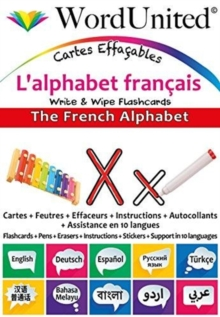 The French Alphabet : Write & Wipe Flashcards, Undefined Book