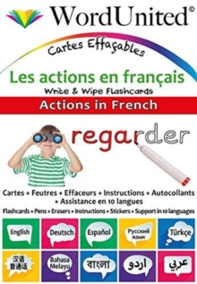 Actions in French : Write & Wipe Flashcards, Undefined Book