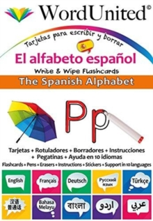 The Spanish Alphabet : Write & Wipe Flashcards, Undefined Book