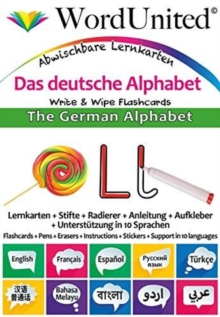 The German Alphabet : Write & Wipe Flashcards, Undefined Book
