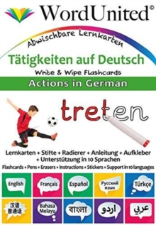 Actions in German : Write & Wipe Flashcards, Undefined Book
