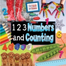 1 2 3 Numbers and Counting: First Words and Pictures, Paperback / softback Book