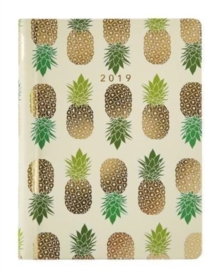 2019 Recipe Diary Pineapples Design : THE must-have diary for 2019. With stunning gold foil cover design, 71 delicious triple-tested recipes, handy notes pocket and stickers, this is the diary you'll, Hardback Book