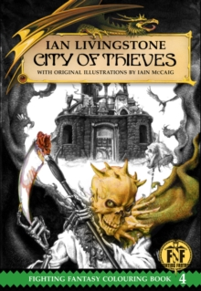 City of Thieves Colouring Book, Paperback Book