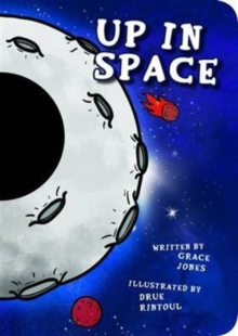 Up in Space : Funny Faces, Board book Book
