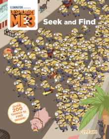 Despicable Me 3 : Seek and Find, Paperback Book