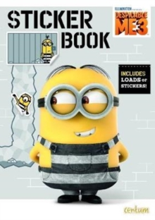 Despicable ME 3 Sticker Book, Paperback Book
