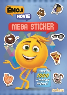 The Emoji Movie Mega Sticker Book, Paperback Book