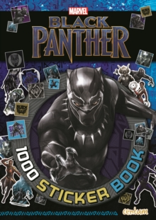 Black Panther - 1000 Sticker Book, Paperback Book