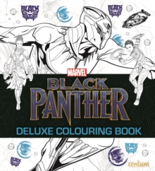 Black Panther - Deluxe Colouring Book, Paperback Book