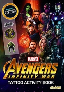Avengers Infinity War - Tattoo Activity Book, Paperback / softback Book