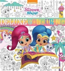 Shimmer & Shine Deluxe Colouring Book, Paperback / softback Book