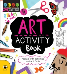 Art Activity Book (STEAM), Paperback Book