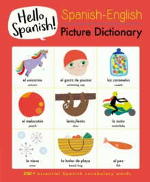 Spanish-English Picture Dictionary, Paperback / softback Book