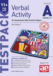 11+ Verbal Activity Year 4/5 Testpack A Papers 1-4, Undefined Book