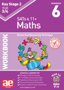 KS2 Maths Year 3/4 Workbook 6 : Numerical Reasoning Technique, Paperback / softback Book