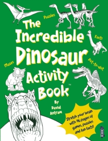 The Incredible Dinosaurs Activity Book, Paperback Book
