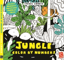Colour by Numbers: Jungle, Paperback Book