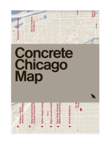 Concrete Chicago Map, Sheet map, folded Book