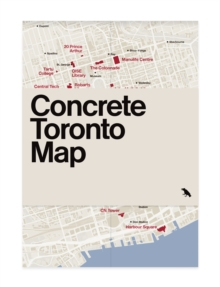 Concrete Toronto Map, Sheet map, folded Book