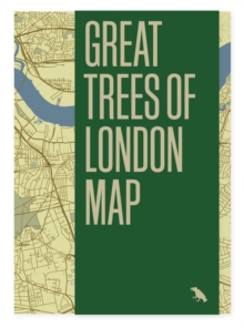 Great Trees of London Map, Sheet map, folded Book