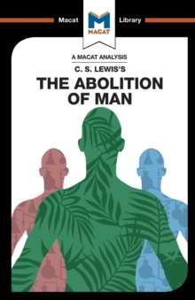 The Abolition of Man, Paperback Book