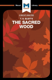 The Sacred Wood : Essays on Poetry and Criticism, Paperback Book