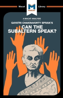 Can the Subaltern Speak?, Paperback Book