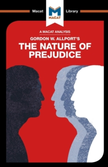 The Nature of Prejudice, Paperback Book