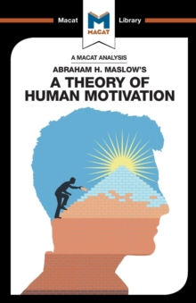 A Theory of Human Motivation, Paperback / softback Book