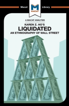 Liquidated : An Ethnography of Wall Street, Paperback Book