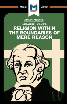 Religion Within the Boundaries of Mere Reason, Paperback Book