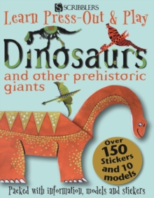 Learn, Press-Out & Play Dinosaurs, Board book Book