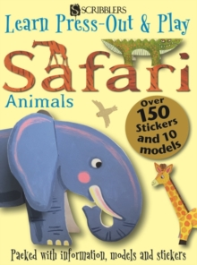 Learn, Press-Out & Play Safari Animals, Paperback Book