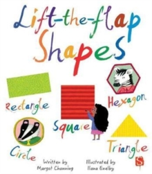 Lift-The-Flaps Shapes, Board book Book