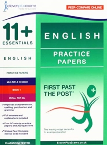 11+ ESSENTIALS ENGLISH: PRACTICE PAPERS, Paperback Book