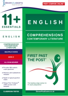 11+ English Comprehensions: Contemporary Literature Book 2, Paperback / softback Book