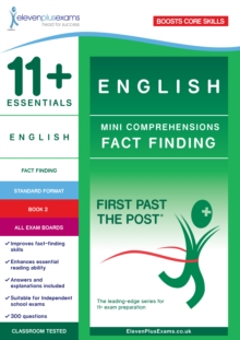 11+ Essentials English : Mini-Comprehensions Fact-Finding Book 1, Paperback Book