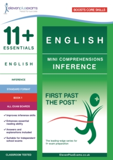 11+ Essentials English Mini Comprehensions: Inference Book 1, Paperback Book