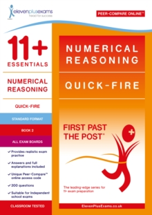NUMERICAL REASONING: QUICK-FIRE BOOK 2, Paperback Book