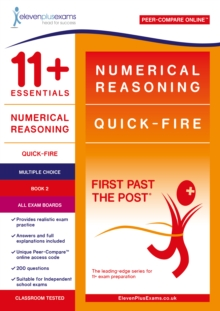 11+ Essentials Numerical Reasoning: Quick-Fire Book 2 - Multiple Choice, Paperback / softback Book