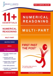11+ Essentials Numerical Reasoning: Multi-Part Book 1 - Multiple Choice, Paperback / softback Book