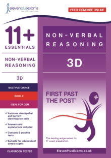 11+ Essentials - 3-D Non-verbal Reasoning Book 2, Paperback Book