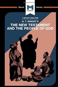 N.T. Wright's The New Testament and the People of God, Paperback / softback Book