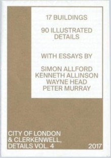 DETAILS VOL4 : CITY OF LONDON AND CLERKENWELL 4, Pamphlet Book