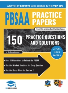 PBSAA PRACTICE PAPERS, Paperback Book