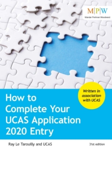 How to Complete Your UCAS Application 2020 Entry, Paperback / softback Book