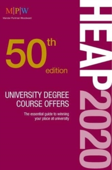 HEAP 2020: University Degree Course Offers, Paperback / softback Book