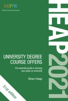 HEAP 2021: University Degree Course Offers, Paperback / softback Book
