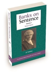 Banks on Sentence 2019 Volume One, Paperback / softback Book